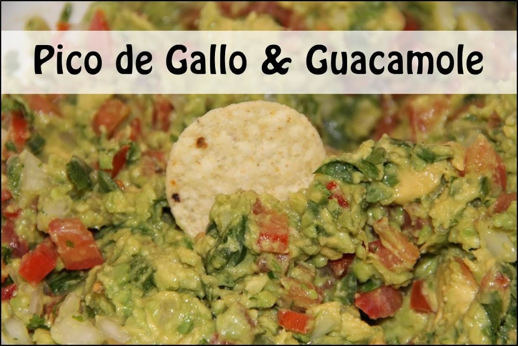 Pico de Gallo & Guacamole - An easy and delicious Pico de Gallo appetizer recipe perfect for dipping! So many fresh ingredients and so good for you, too!