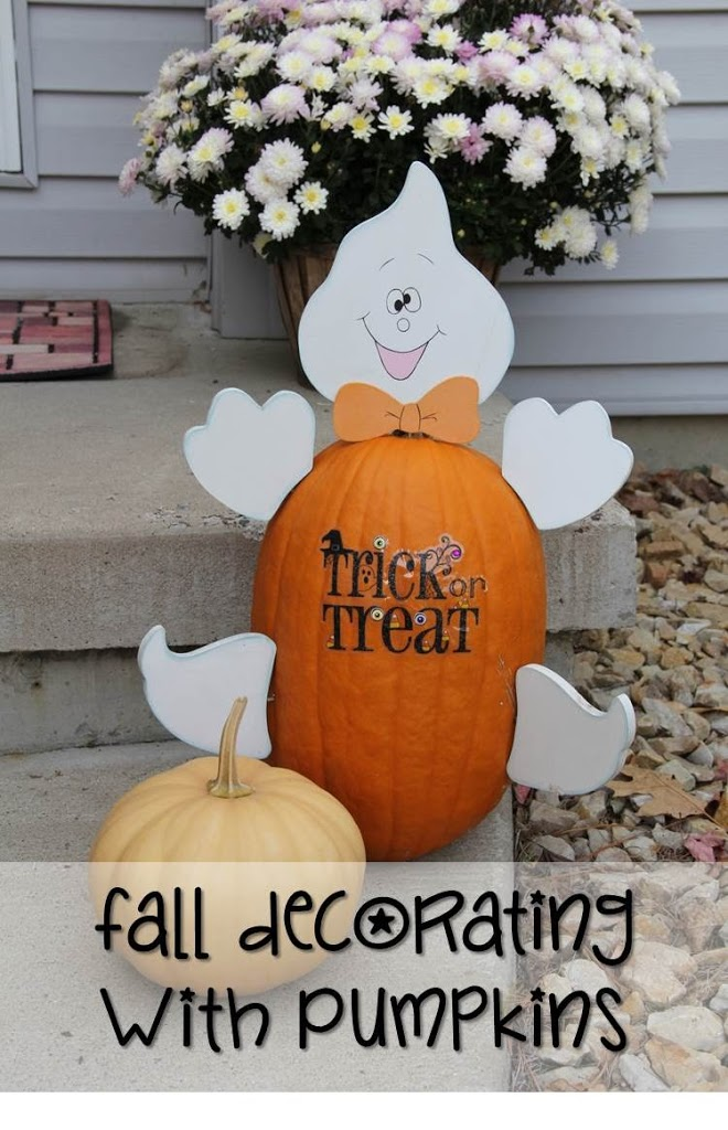 Fall Decorating with Pumpkins - Bitz & Giggles