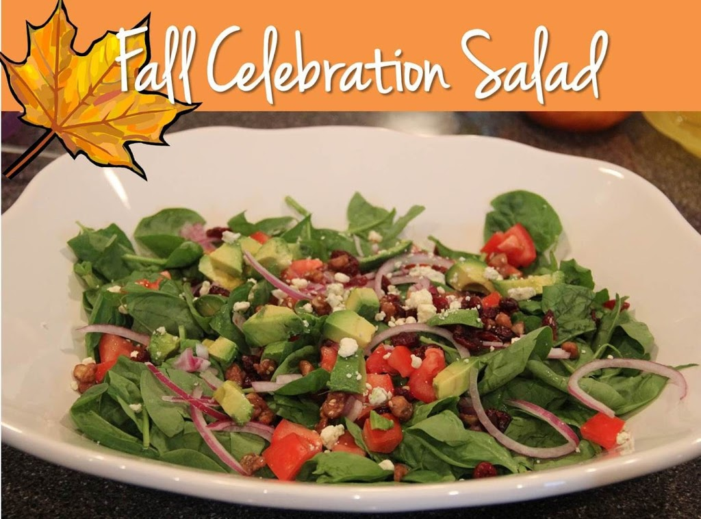 Fall Celebration Salad - Bitz & Giggles