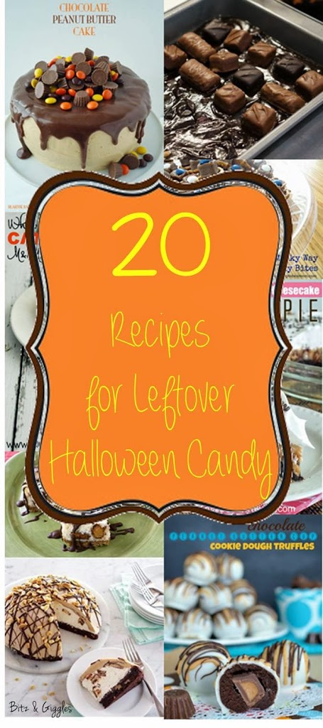 Leftover Halloween recipes