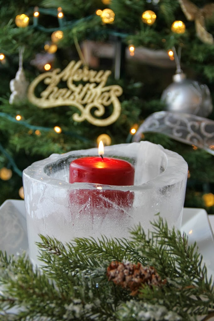Christmas Ice Luminary