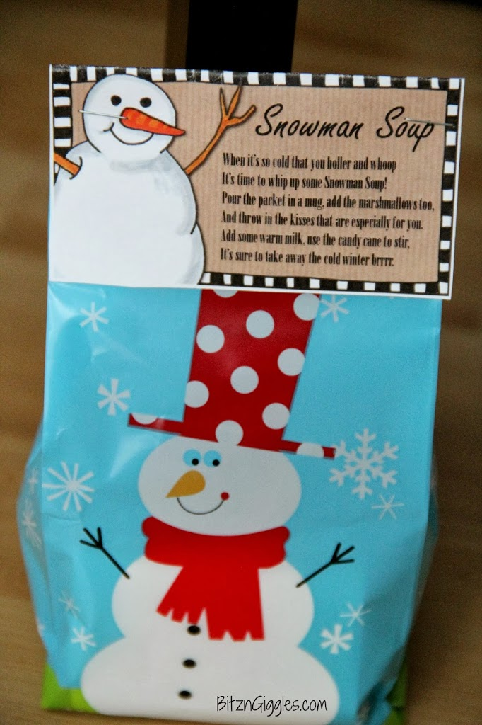 It is a graphic of Dashing Snowman Soup Printable