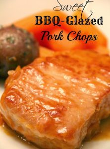 Sweet BBQ-Glazed Pork Chops