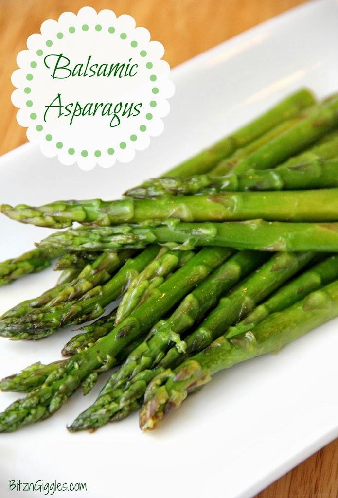 Balsamic Asparagus
