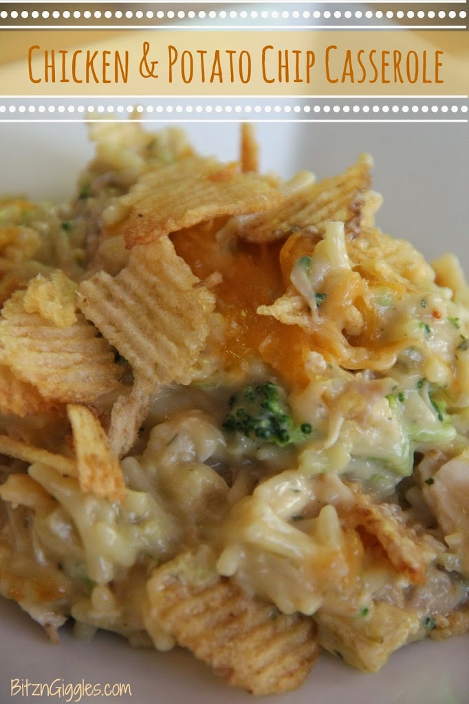 Chicken  Potato Chip Casserole - Bitz  Giggles-4706