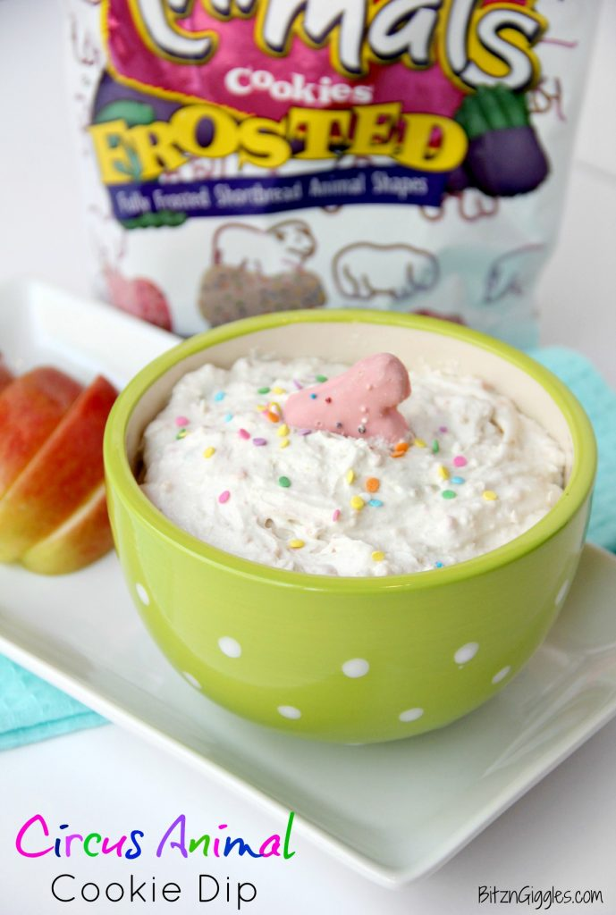 Circus Animal Cookie Dip - Bitz & Giggles