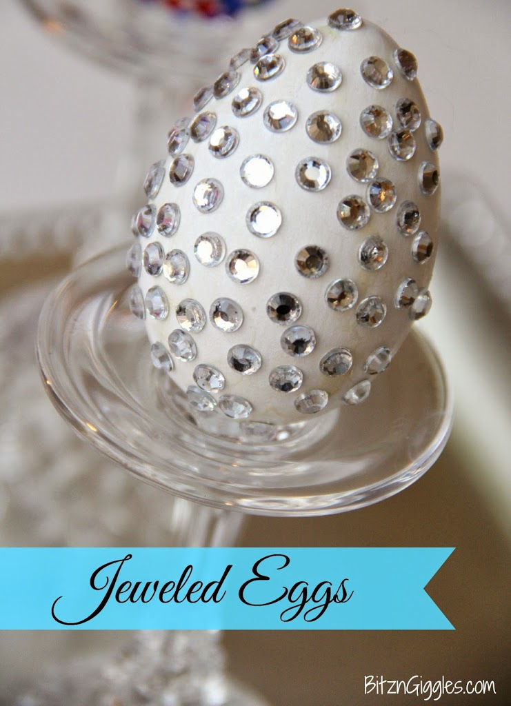 Jeweled Eggs - Bitz & Giggles
