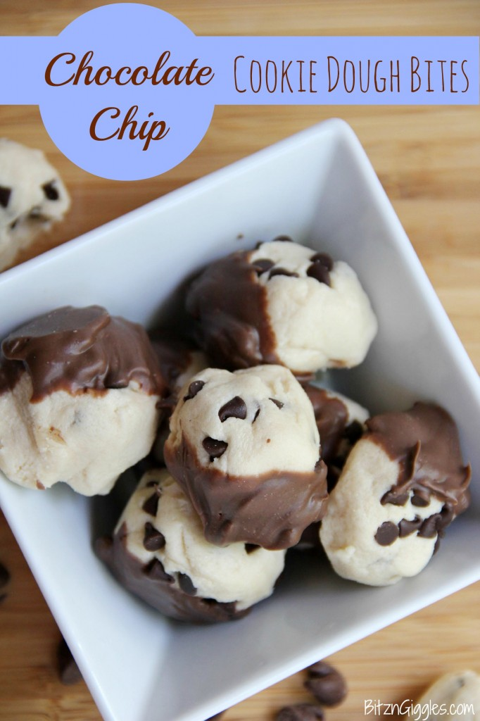 Chocolate Chip Cookie Dough Bites - Bitz & Giggles final
