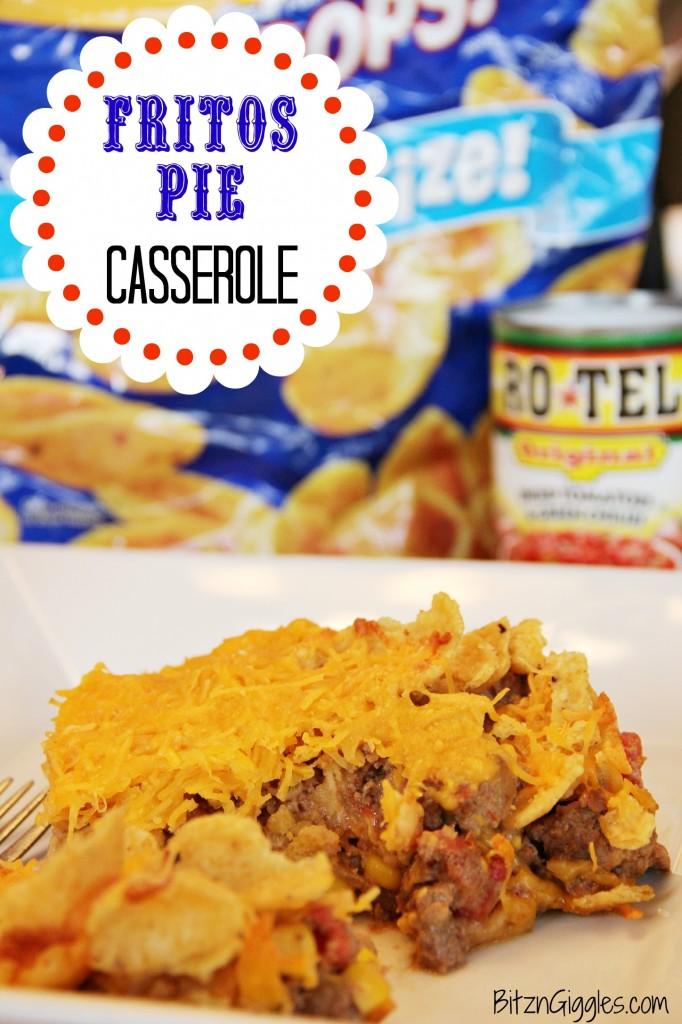 Fritos Pie Casserole - Bitz & Giggles