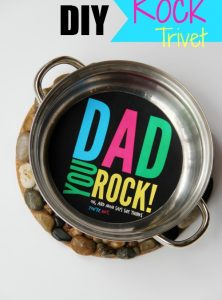 DIY Rock Trivet – A Father's Day Gift