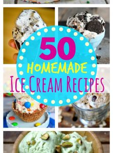 50 Homemade Ice Cream Recipes - Bitz & Giggles