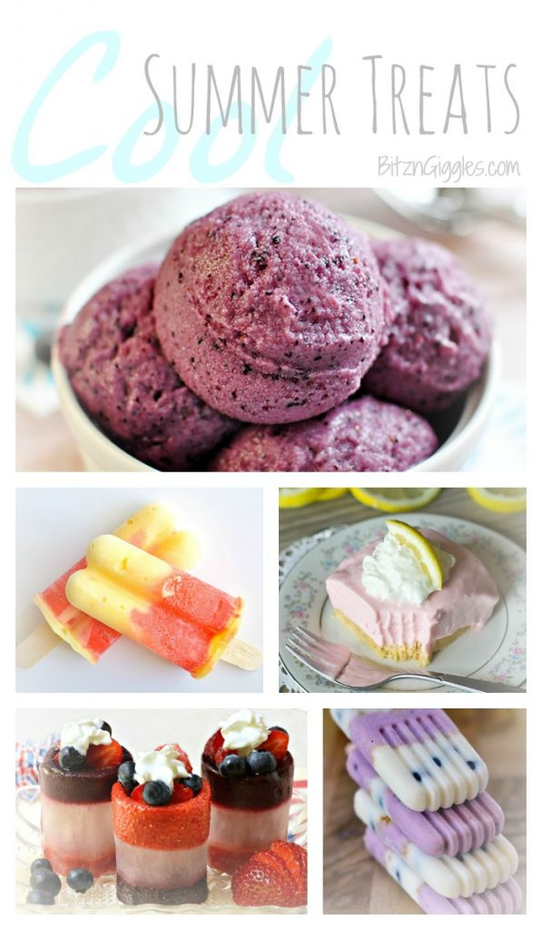 Cool Treats Collage