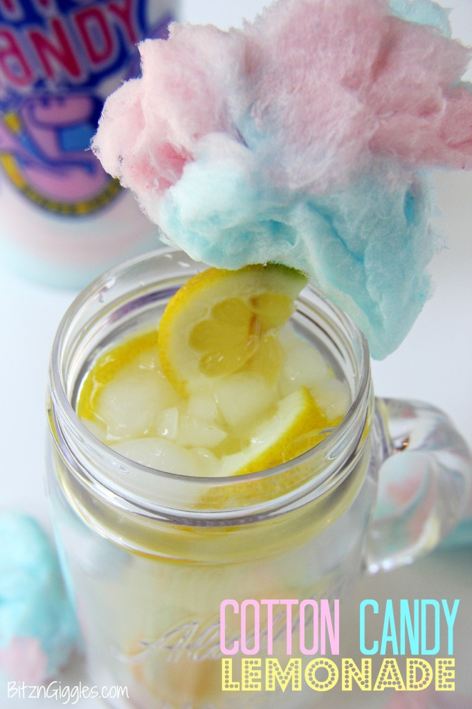 Cotton Candy Lemonade - Bitz & Giggles