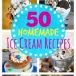 50 Homemade Ice Cream Recipes – No Machine Needed!