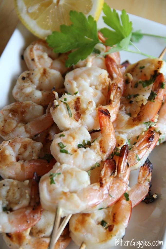 Lemon Basil Shrimp - Bitz & Giggles