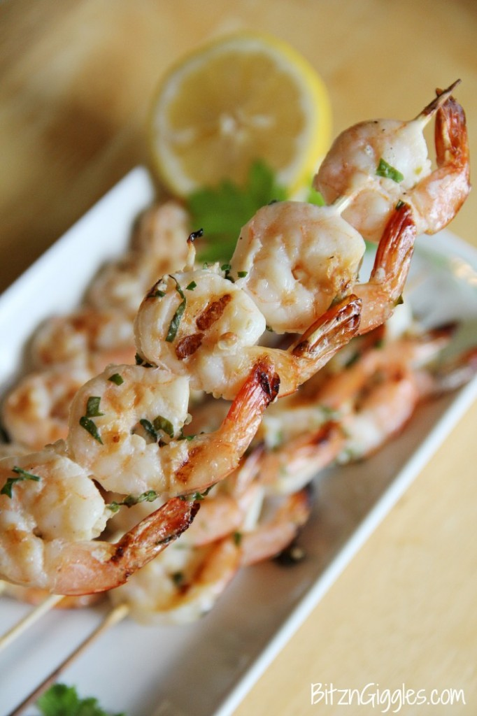 Lemon Basil Shrimp - Bitz & Giggles