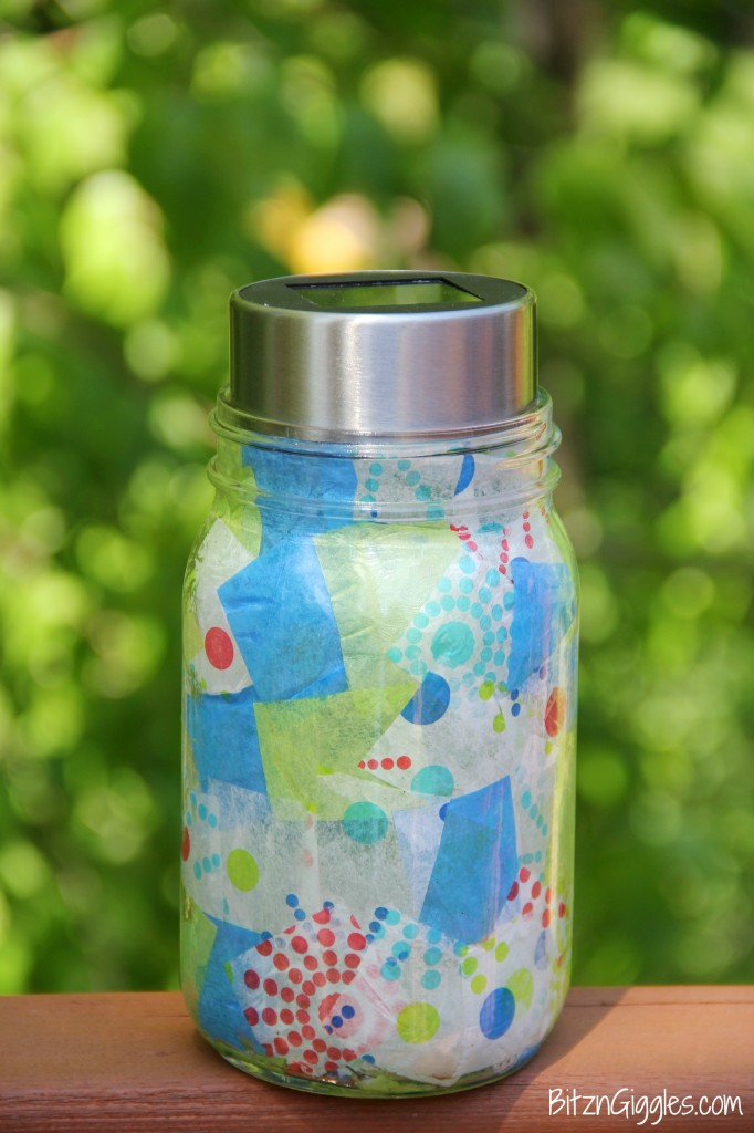 Mason jar solar light for Where to buy solar lights for crafts