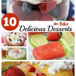 10 Delicious No-Bake Desserts