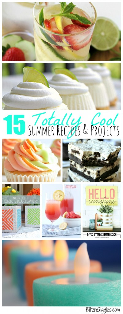 15 Totally Cool Summer Recipes & Projects - Bitz & Giggles