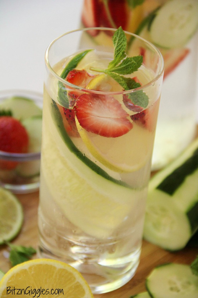 Fruit-Infused Water - Bitz & Giggles