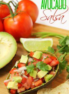 Avocado Salsa - Bitz & Giggles