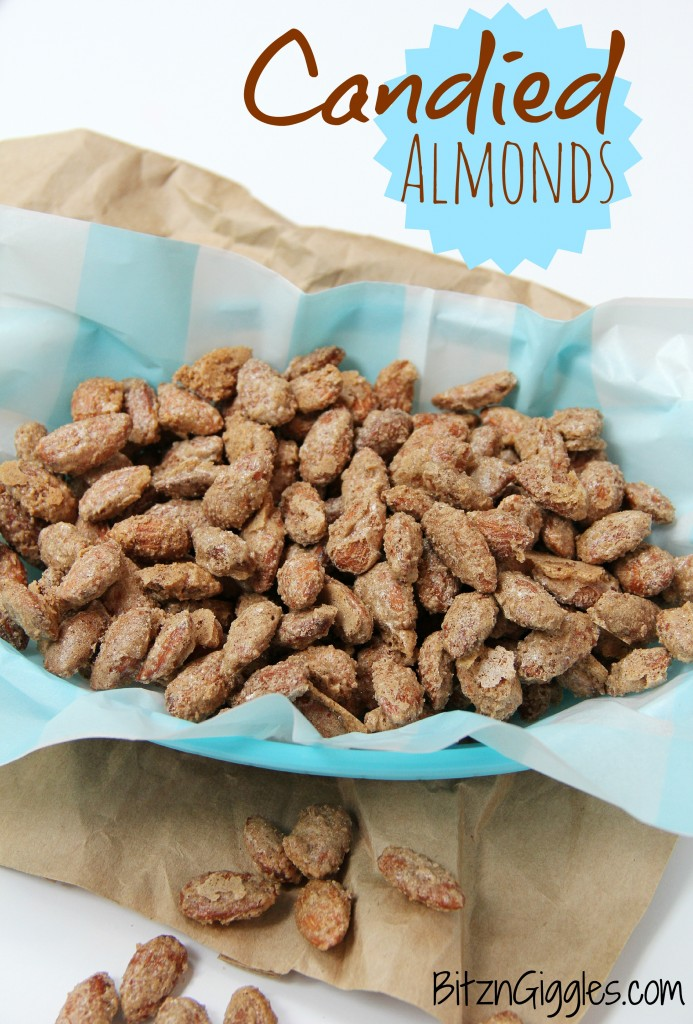 Candied Almonds - Bitz & Giggles