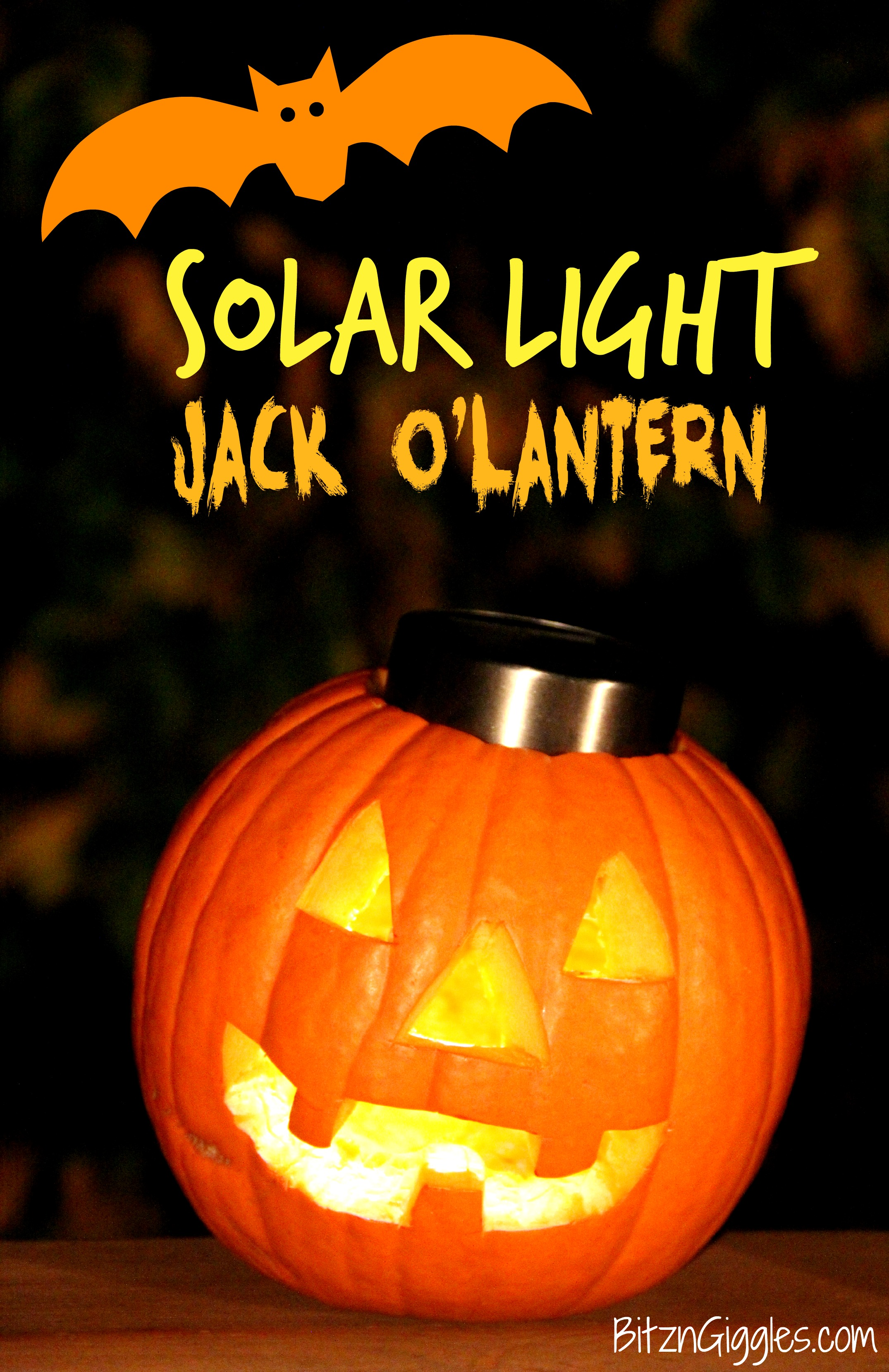 Wonderful Solar Light Jack O Lantern