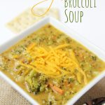 Cheesy Potato & Broccoli Soup