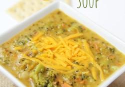 Cheesy Potato & Broccoli Soup