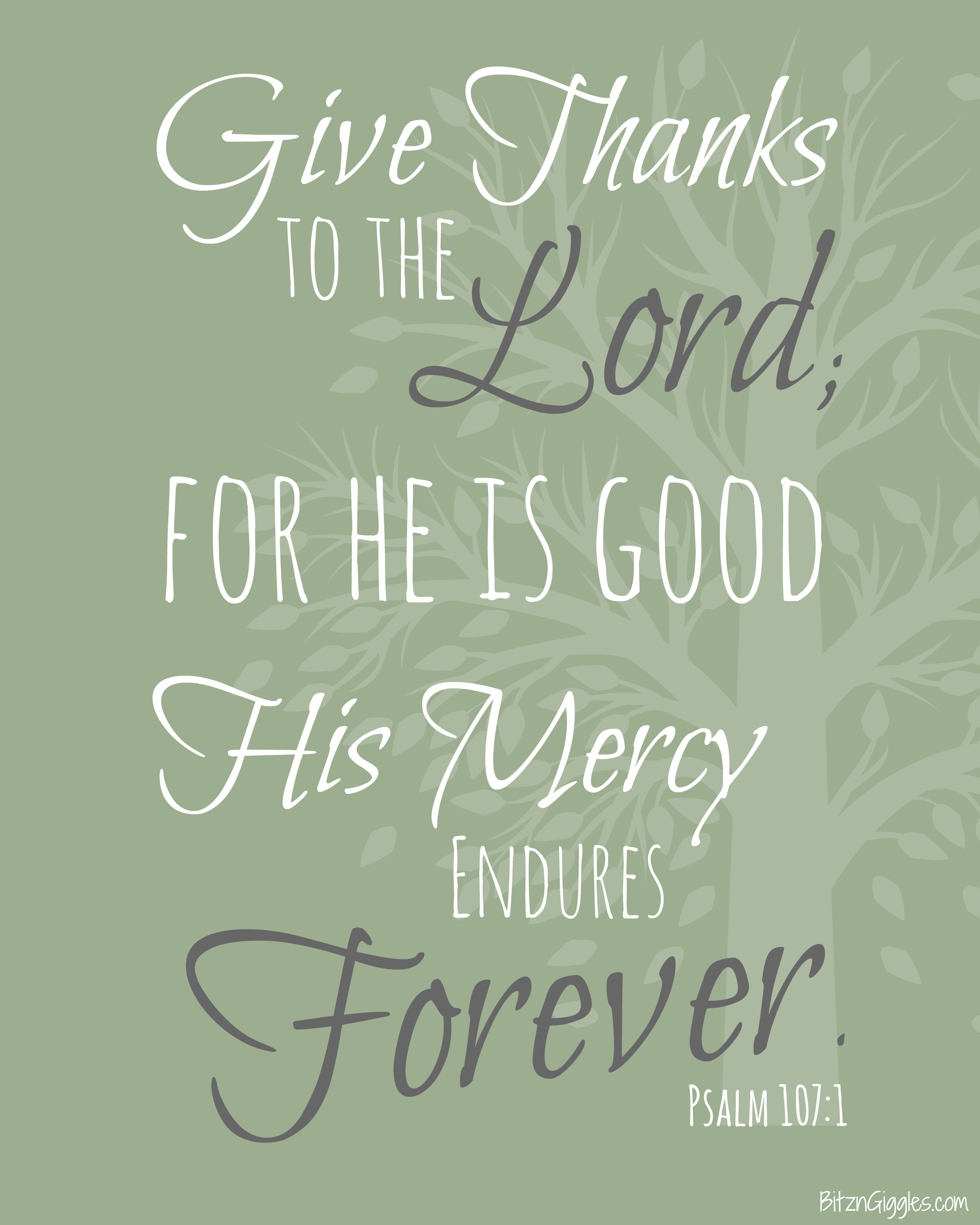 graphic about Give Thanks Printable called Thanksgiving Printable - Present Because of