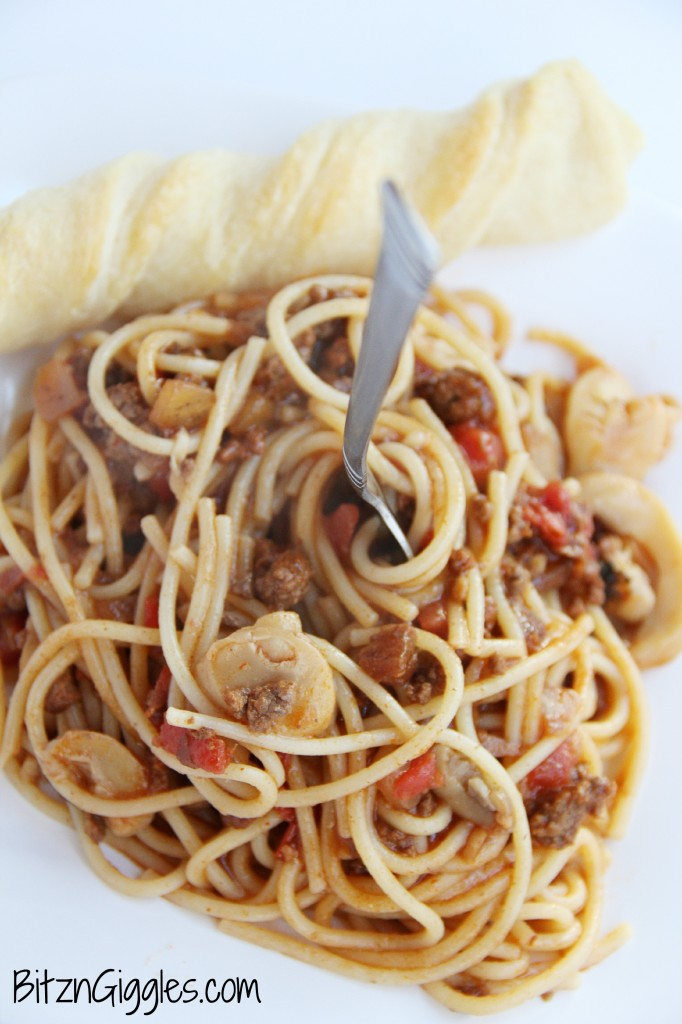 Taco Spaghetti