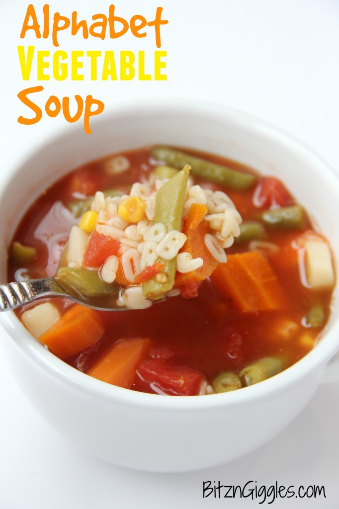 Alphabet Soup: Fun Letter Games and A Recipe