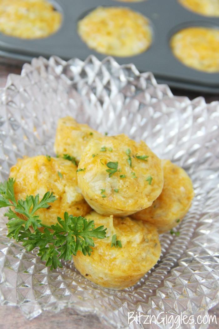 Cheesy Artichoke Bites