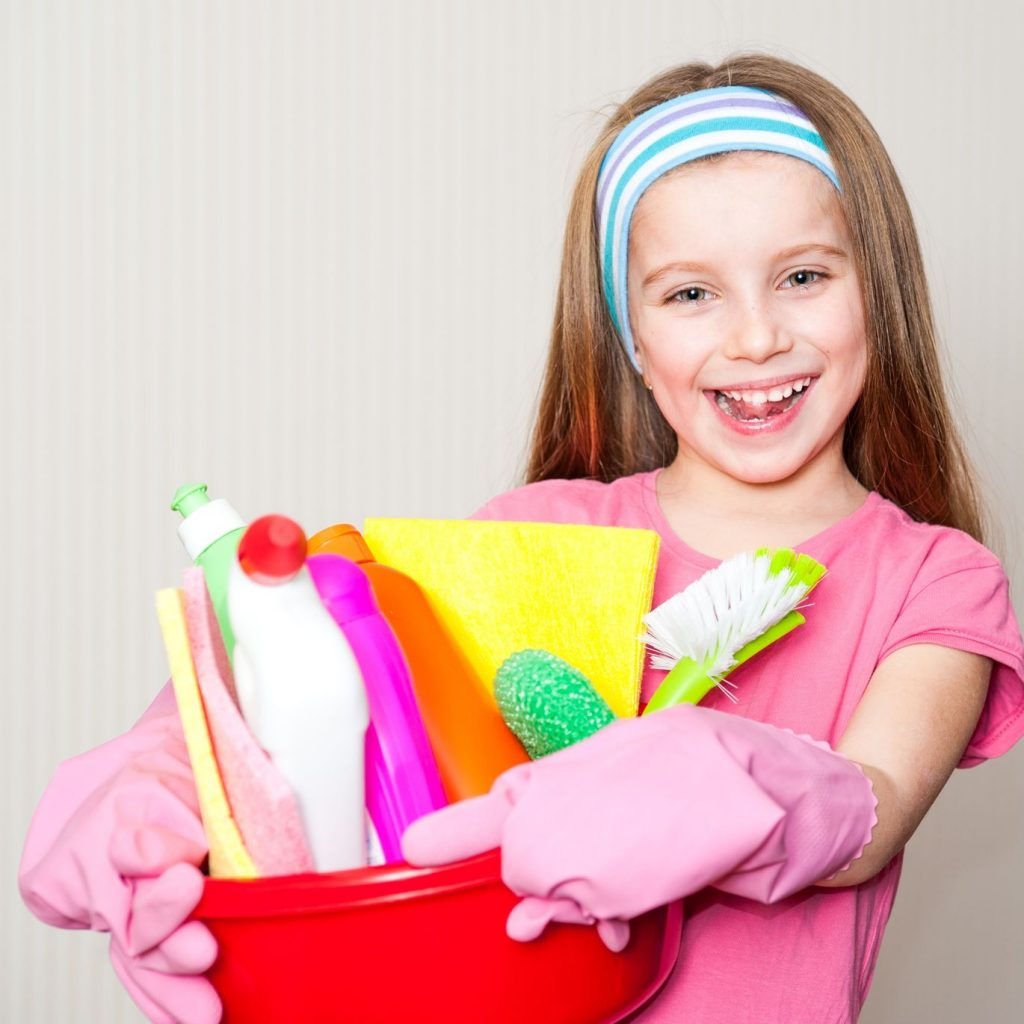 Age-Appropriate Chore List for Kids