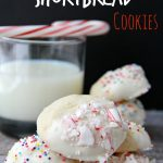Candy-Dipped Shortbread Cookies