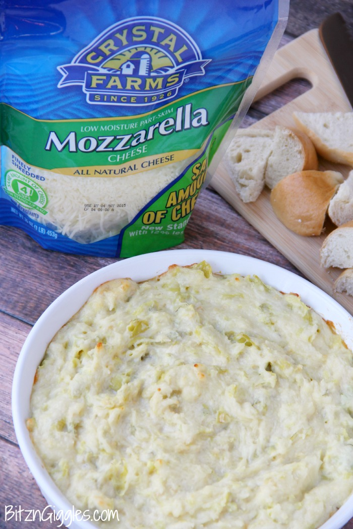 Cheesy Artichoke Dip_Crystal Farms