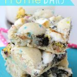 Cake Batter Truffle Bars