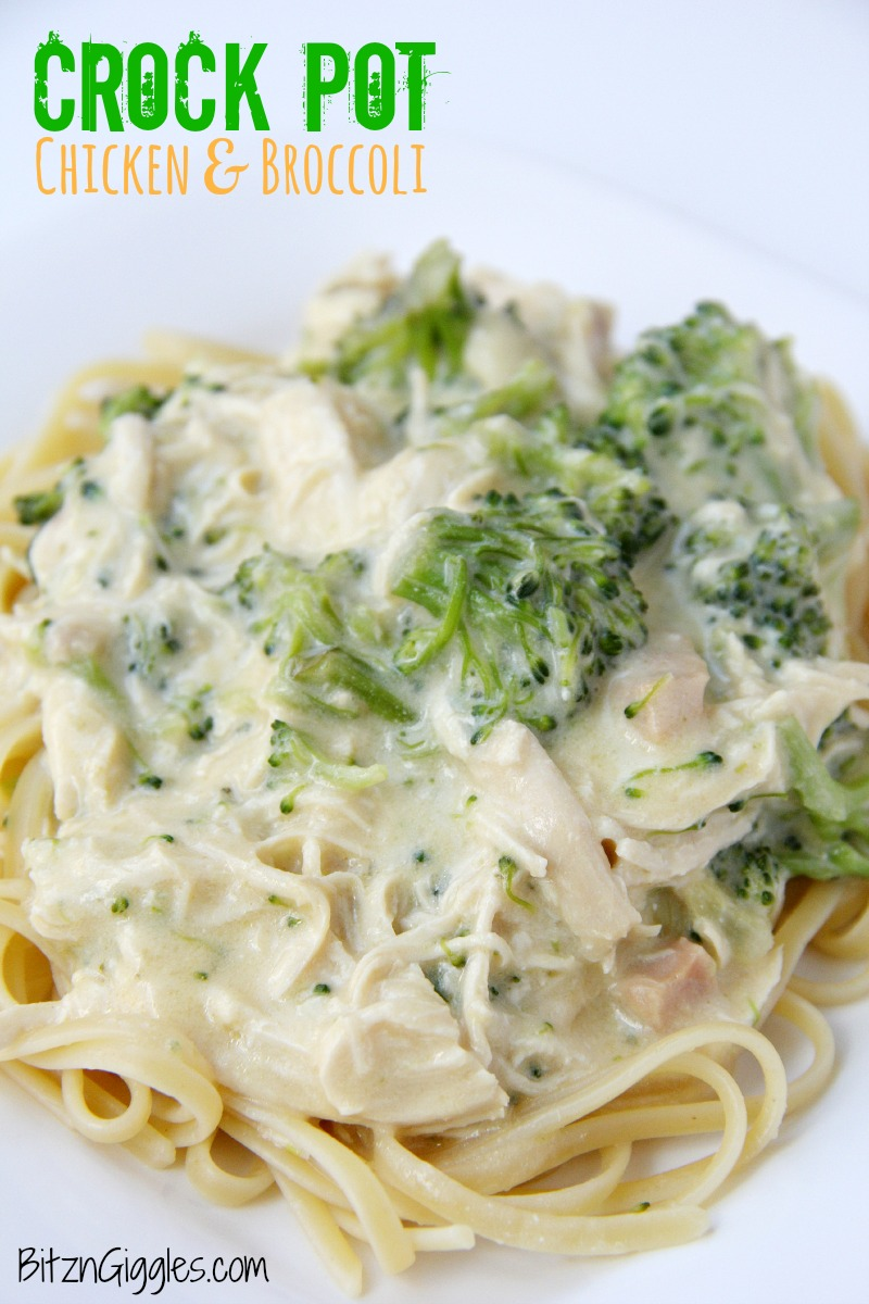 Crock Pot Chicken  Broccoli-4939