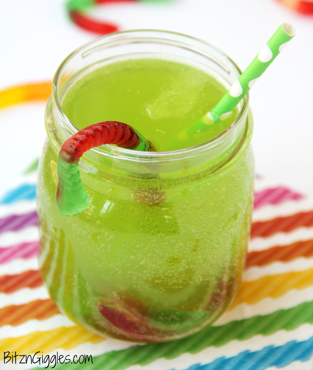 gummy worm punch kids will love sipping on this drink in the summer great