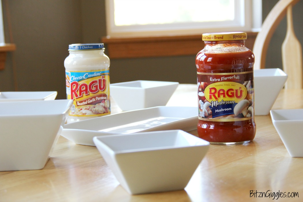 Family Pasta Bar - Ideas for creating a pasta bar with toppings each member of the family will love!