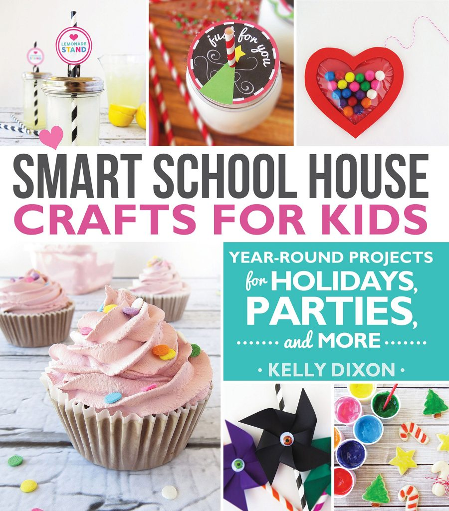 Smart School House Crafts For Kids Book