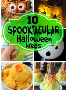 10 Spooktacular Halloween Ideas - Some of my favorite Halloween treats, drinks, projects and more rounded up just for you!