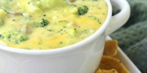 Broccoli Cheese Dip - Warm cheesy broccoli dip bursting with flavor! Perfect for parties!