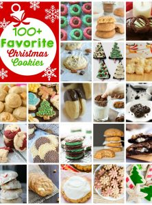 100+ Favorite Christmas Cookies - Over 100 delicious Christmas cookie recipes to share with your friends and family!