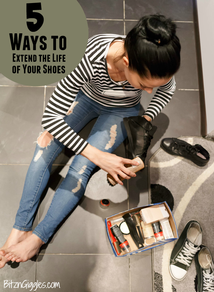 5 Ways to Extend the Life of Your Shoes - Get the most value out of your footwear especially in harsh weather conditions!
