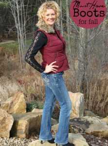 Must-Have Boots For Fall - After a trip to Vegas and seeing all of the on-trend styles, I knew I needed to go shoe shopping! Check out what I found!