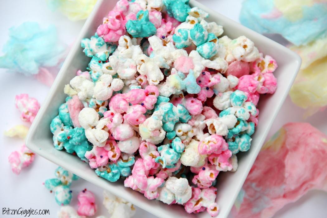 Food Candy Coated Popcorn Recipe