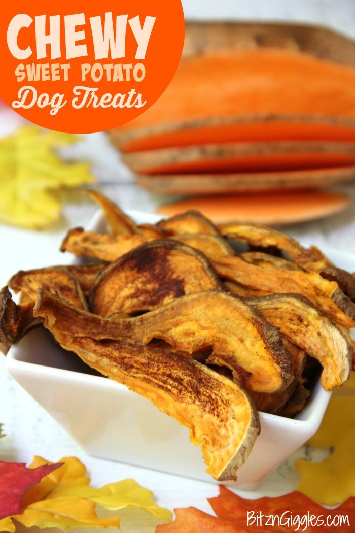 Chewy Sweet Potato Dog Treats Homemade Sweet Potato Treats Your Dog Will Do Flips For