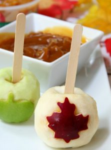 Caramel Apple Carving & a $50 VISA Gift Card Giveaway!