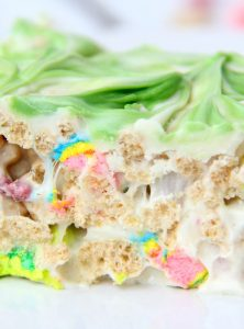 Microwave Lucky Charms Treats